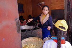 Fries in Lhasa