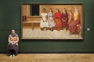Yuri Kugachs Before the Dance, State Tretyakov Gallery, 2009. From the series, Guardians © Andy Freeberg