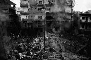 1st prize Spot News Stories, © Davide Monteleone, Italy, Contrasto, Israeli bombings of Lebanon, July