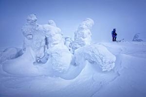 Difficult mountain pass