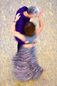 Mall of Berlin, Potsdamer Platz, tango dancers, august 2018, Nr. 5