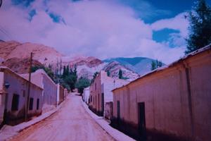 El cerro de los siete colores. Purmamarca. Jujuy