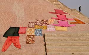 Washing in Varanasi