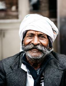 Jaipur man living on the street, Jaipur India , February 2018