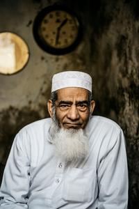 A Muslim shop keeper in Jaipur India, February 2018