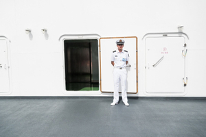 On the Chinese Ship Peace Ark, Pearl Harbor HI, July 2014