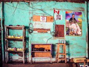 KeeBar, en Ethiopian restaurant inside Nakivale refugee settlement in Uganda