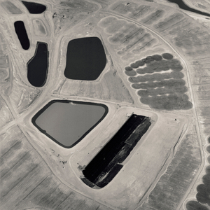 Black Maps (Bingham, Utah 2), 1985