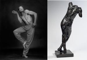 Bill T. Jones, 1985 © Robert Mapplethorpe Foundation. Used by permission. Genie funeraire, vers 1898 © Paris, musee Rodin