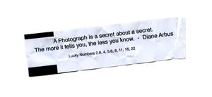 Diane Arbus, Foto Fortune. © Jason Landry