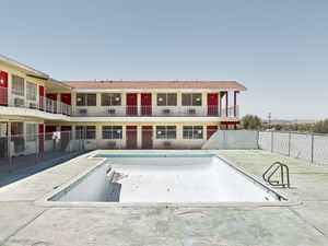 Empty Pool, California