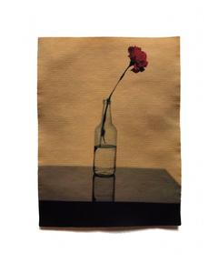 Carnation in Glass Bottle, 2020