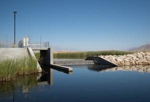 Main LADWP Pump Back Station, Owens Lake, CA
