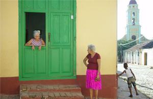 Down the Street - Trinidad, Cuba 2013