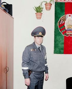 Vasily, the best policeman of Minsk.