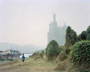 Raffles City. District de Jiangbei, Chongqing. Chine, Décembre 2017.