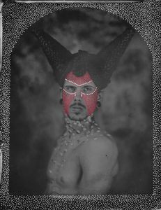 © Zelko Nedic, The Existence Of Man 8x10 Tintype, Hand Coloured