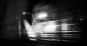 Bridge on the way to Manhattan