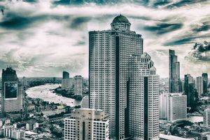 Overlooking the scenic 'Land of Smiles' - Bangkok