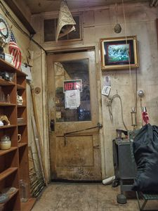 Back room at Marty's Second Hand Goods store
