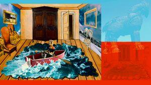 After Giorgio de Chirico(surrealism)