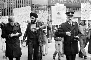 Sikh Protest, Toronto, 1982