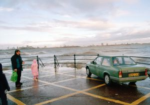 """Mersey Family, Vauxhall. From the exhibition """"Landscapes"""" © Tom Wood"""