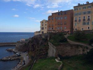 Bastia by sea
