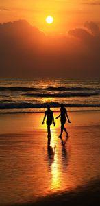 Shilluette Sunset