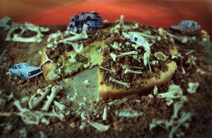 Scrap Cake from Recipes for Disaster