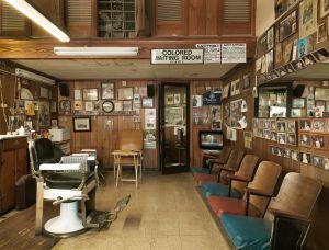 Malden Brothers Barber Shop, Montgomery, Alabama, 2017