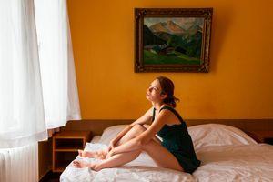 Woman by Open Window (2013)