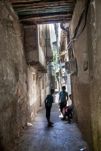 Alleys in Old Damascus