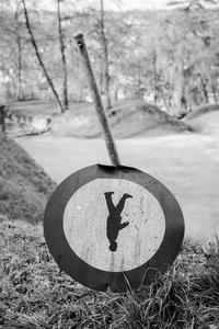 Forbidden to walk upside down