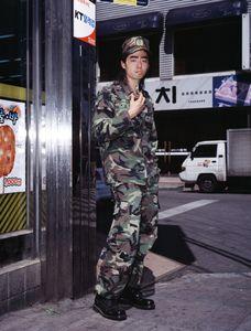 A Reserve Soldier, #4 © Jae-gu Kang