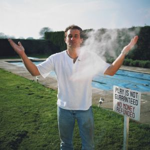 Guy Harrison, 'Fun-powder Plotter', Fathers Rights Activist. West Sussex UK. 26 May 2004,