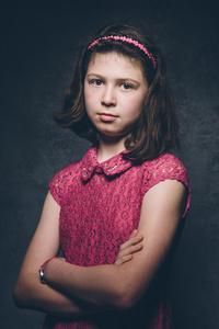 Orla aged 10.