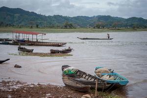 Lake beside M'Nong village in Dak Lak Province