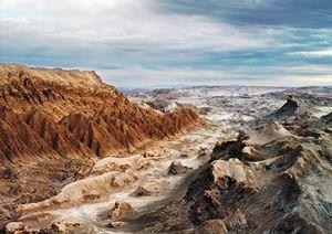 Moon Valley, Atacama desert, Lunar Robotic Research [NASA], Chile, 2007 © Vincent Fournier