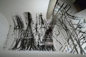 "Skateboarding calligraphy ""FREEHAND""by Takahiro Morita _9"
