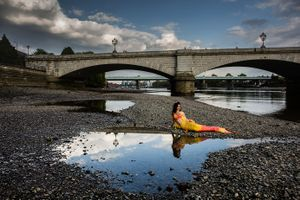 Mermaid Spotted by the Thames