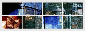 N°19 - Morceaux choisis - Vert-Bleu - 2004