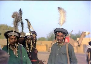 Wodaabe (or Bororo) young men