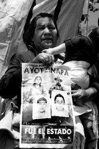 En la desaparición están implicados la policía federal y el ejército mexicanos.