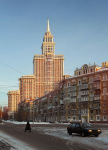 Triumph Palace, Moscow, 2011