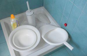Toilet. Things of everyday usage. © Luigi Avantaggiato