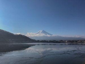 Morning of Mount Fuji