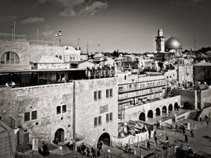 View across the old city, jerusalem, Israel
