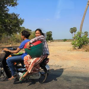 8 Cambodge on the road