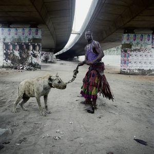 Abdullahi Mohammed with Mainasara, Lagos, Nigeria, 2007. Showing at Yossi Milo Gallery. Courtesy of PhotoLondon.
